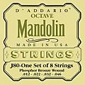 D'Addario J80 Phosphor Bronze Octave Mandolin Strings  Thumbnail