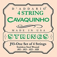 D'Addario J93 Cavaquinho Stainless String Set