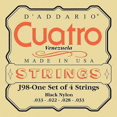 D'Addario J98 Cuatro Venezuela String Set