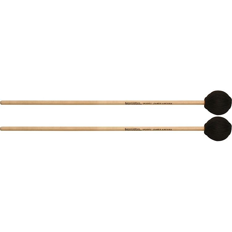 Innovative PercussionJAMES ANCONA SERIES EXTRA SOFT MARIMBARattan HandleIP2006 Medium Hard Cord Vibe/Marimba