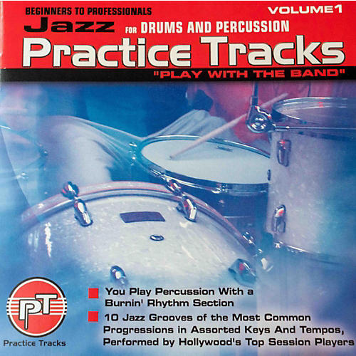 Practice Tracks JAZZ DRUMS CD