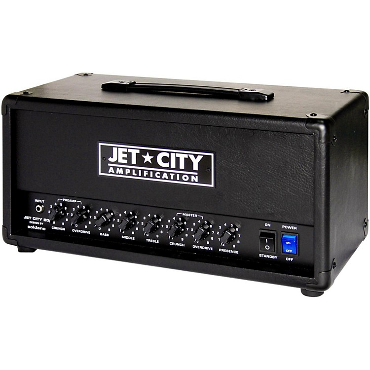 Jet City Amplification JCA22H 20W Tube Guitar Amp Head Black