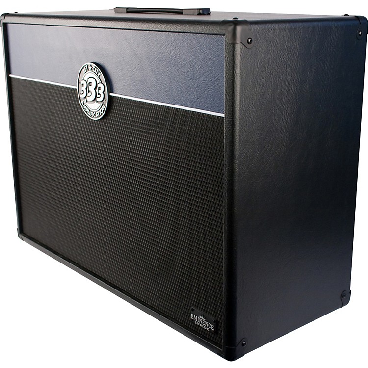 Jet City AmplificationJCA24S+ 2x12 Guitar Speaker Cabinet 200WBlack/Blue