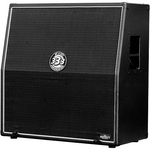 Jet City Amplification JCA48S 4x12 Guitar Speaker Cabinet 400W Black Slant