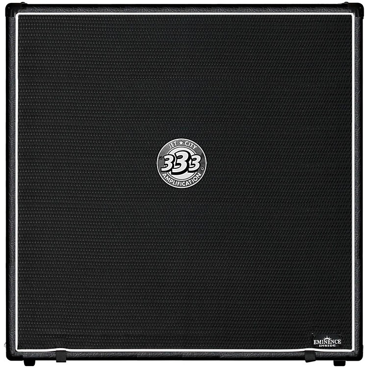 Jet City Amplification JCA48S 4x12 Guitar Speaker Cabinet 400W Black Straight
