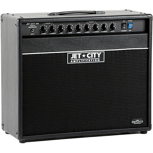 Jet City Amplification JCA5012C 50W 1x12 Tube Guitar Combo Amp Black, Blue