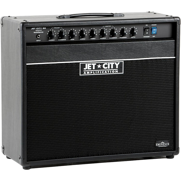Jet City AmplificationJCA5012C 50W 1x12 Tube Guitar Combo AmpBlack/Blue