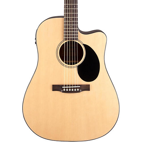 Jasmine JD-36CE Dreadnought Acoustic-Electric Guitar Natural