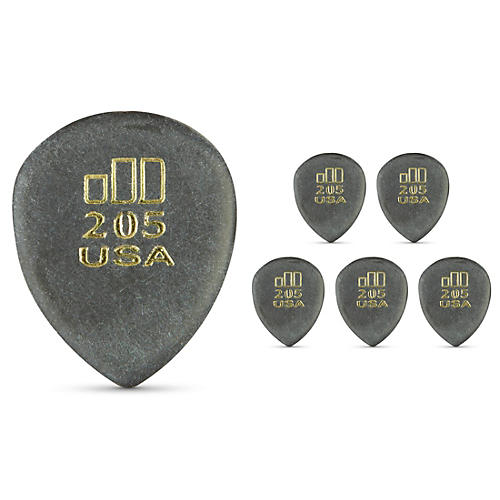 Dunlop JD JazzTone 205 Guitar Picks 6-Pack