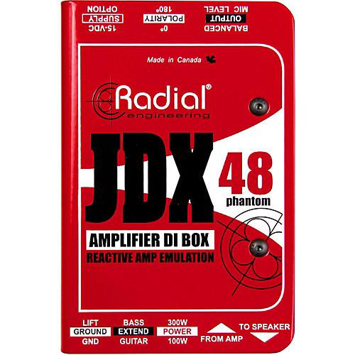 Radial Engineering JDX-48 Reactor Guitar Amp Direct Box