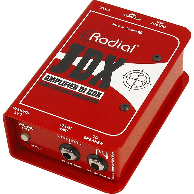 Radial Engineering JDX Reactor Guitar Amp and Cabinet Direct Box