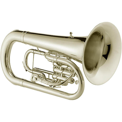 Jupiter JEP1000M Qualifier Series Convertible Marching Euphonium Silver plated-thumbnail