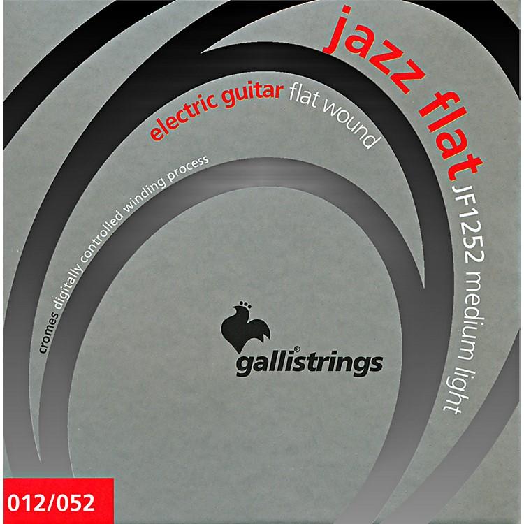 Galli StringsJF1252 JAZZ FLAT WOUND Medium Light Electric Guitar Strings 12-52