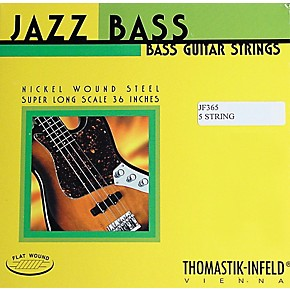 thomastik jf365 jazz flatwound long scale 5 string bass strings musician 39 s friend. Black Bedroom Furniture Sets. Home Design Ideas