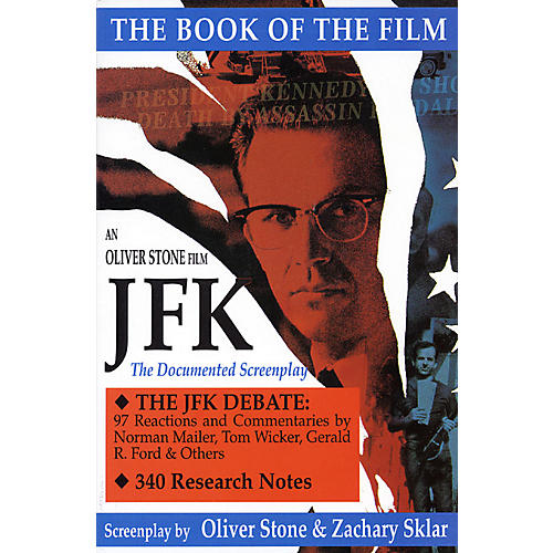 Applause Books JFK (The Book of the Film) Applause Books Series Softcover Written by Oliver Stone