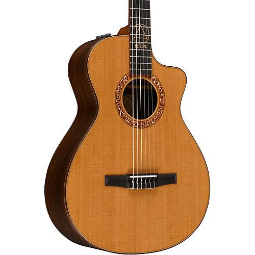 Taylor JMSM Jason Mraz Signature Model Grand Concert Acoustic-Electric Guitar Natural