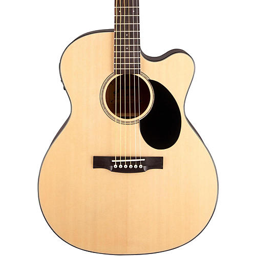 Jasmine JO-36CE Cutaway Orchestra Acoustic Electric Guitar