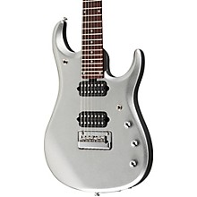 Ernie Ball Music Man JP13 John Petrucci 7-String Electric Guitar Platinum Silver