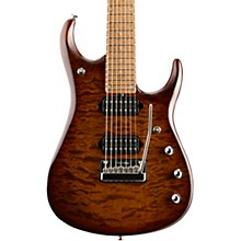 Ernie Ball Music Man JP15 Roasted Quilt Maple Top Seven-String Electric Guitar Sahara Burst