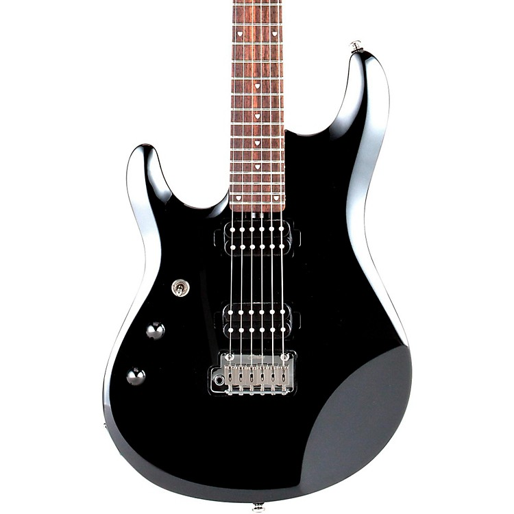 Sterling by Music ManJP60 John Petrucci Signature Model Left-Handed Electric GuitarBlack Metallic