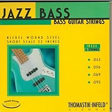 Thomastik JR324 Roundwound Jazz Series Short-Scale Electric Bass Strings