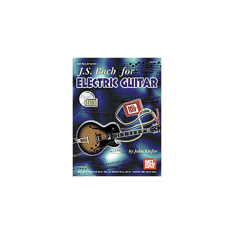 Mel BayJS Bach for Electric Guitar Book/CD