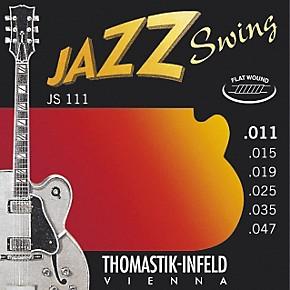 thomastik js111 light flatwound jazz swing electric guitar strings musician 39 s friend. Black Bedroom Furniture Sets. Home Design Ideas