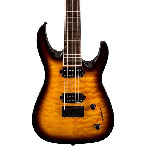Jackson JS32-7 Dinky DKA QM 7-String Electric Guitar-thumbnail