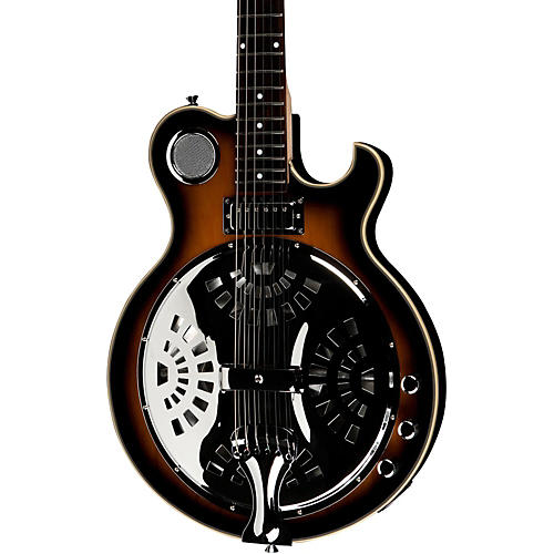 Jay Turser JT-Res Electric Resonator Guitar Antique Natural Sunburst