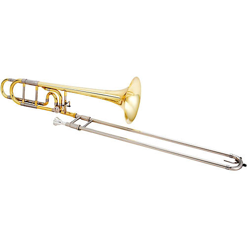 Jupiter JTB1150FO Performance Series F-Attachment Trombone Lacquer Yellow Brass Bell