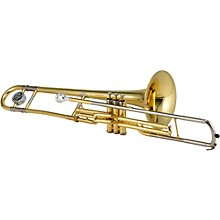 Jupiter JTB720V Series C Valve Trombone Lacquer Yellow Brass Bell
