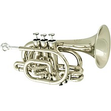 Jupiter JTR710 Series Bb Pocket Trumpet JTR710S Silver