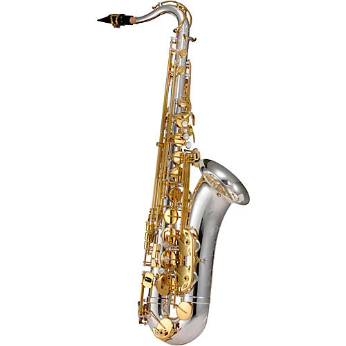 Jupiter JTS1100SG Tenor Saxophone Silver Plated, Gold Lacquer Keys