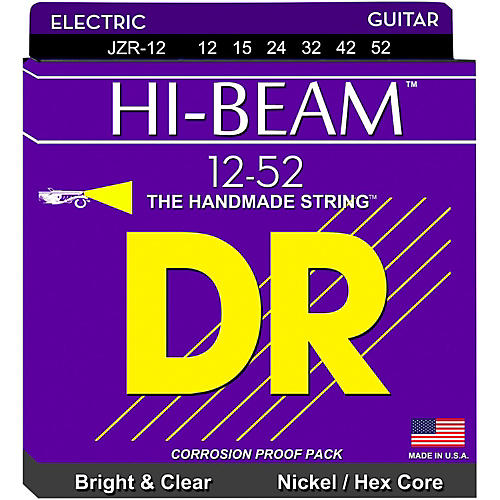 DR Strings JZR12 Hi-Beam Nickel Extra Heavy Electric Guitar Strings