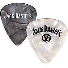 Peavey Jack Daniel's Pearloid Guitar Picks - One Dozen Black Pearl Thin