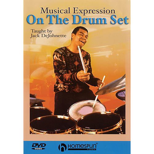 Homespun Jack DeJohnette Teaches Musical Expression on the Drum Set Instructional/Drum/DVD DVD by Jack DeJohnette