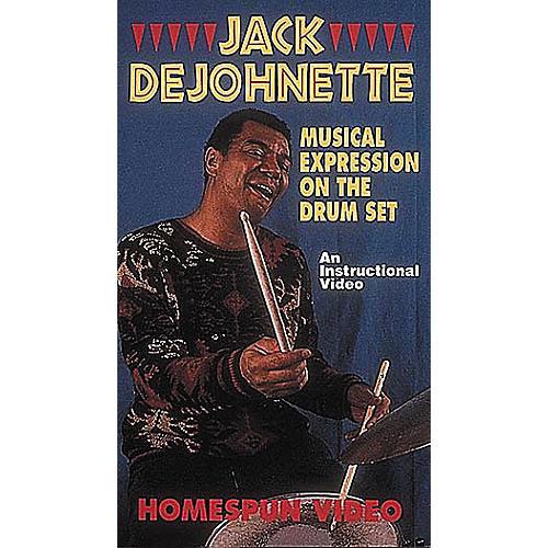 Hal Leonard Jack DeJohnette Teaches Musical Expression on the Drum Set Video