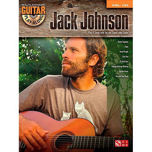 Cherry Lane Jack Johnson - Guitar Play-Along Volume 181 Book/CD-thumbnail