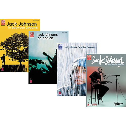 Cherry Lane Jack Johnson Complete Guitar Tab Library-thumbnail