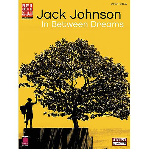 Cherry Lane Jack Johnson In Between Dreams Guitar Tab Songbook-thumbnail