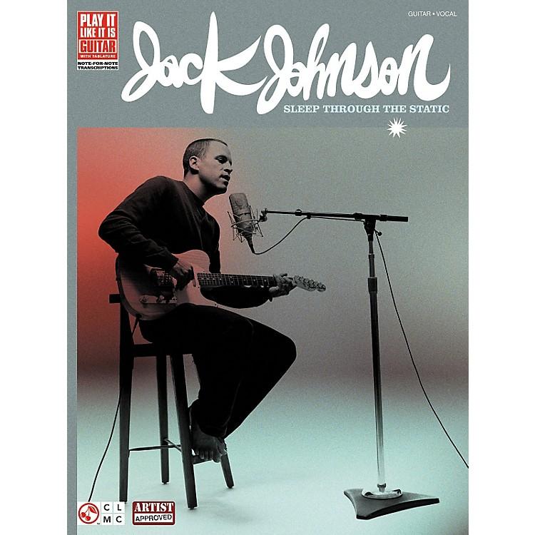 Cherry LaneJack Johnson Sleep Through the Static Guitar Tab Songbook