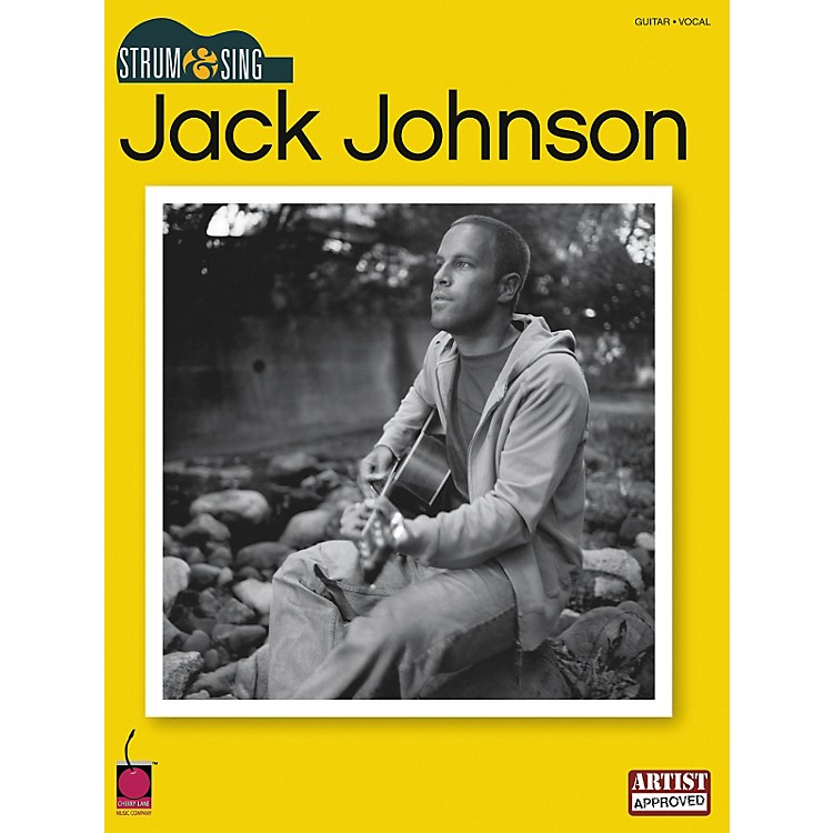 Cherry Lane Jack Johnson Strum & Sing Guitar Songbook