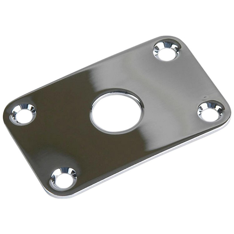 GibsonJack Plate with ScrewsChrome