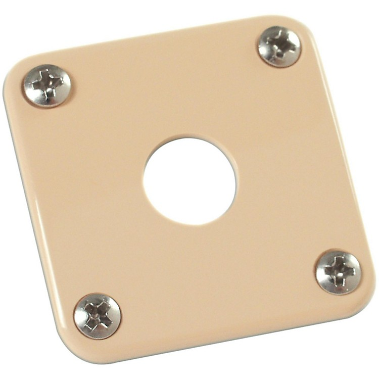 Gibson Jack Plate with Screws Gold