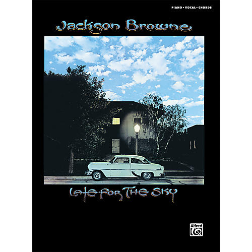 Alfred Jackson Browne: Late For The Sky - Piano, Vocals, & Chords (Book)