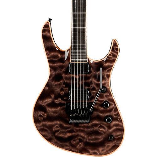 Jackson Jackson Chris Broderick Soloist electric guitar Transparent Black Ebony Fingerboard