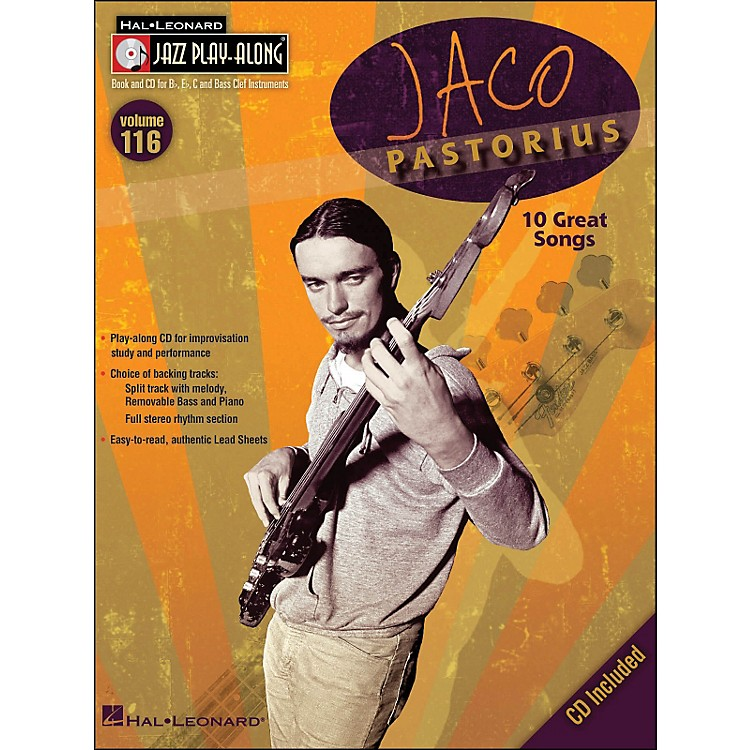 Hal Leonard Jaco Pastorius - Jazz Play-Along Volume 116 (CD/Pkg)