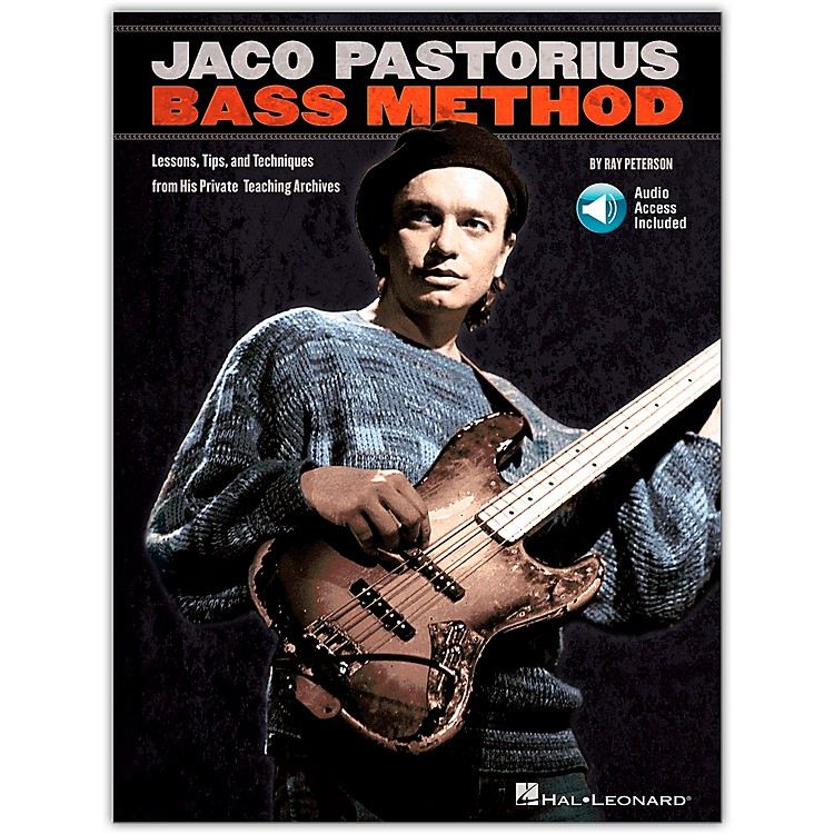 Hal Leonard Jaco Pastorius Bass Method - Book/CD