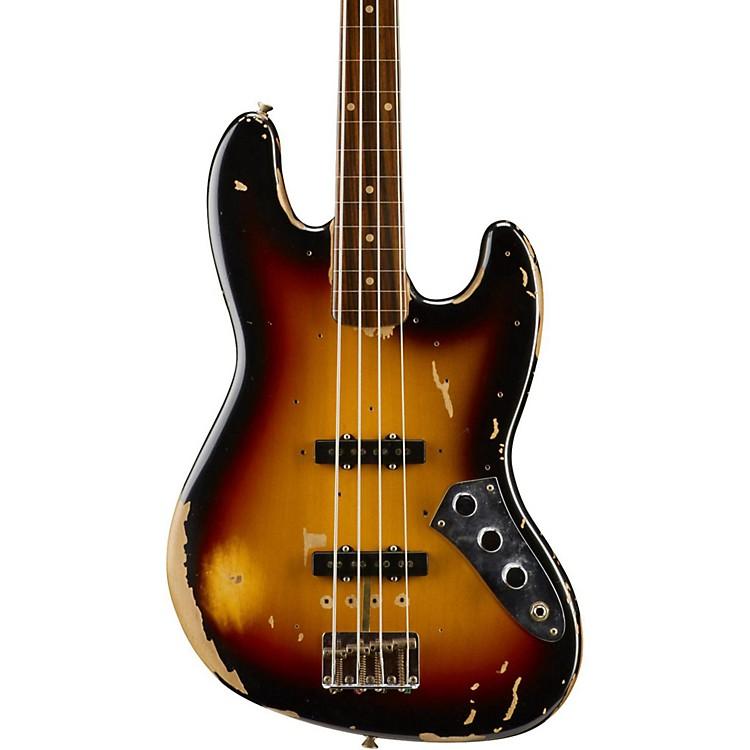 FenderJaco Pastorius Relic Jazz Bass3-Color Sunburst