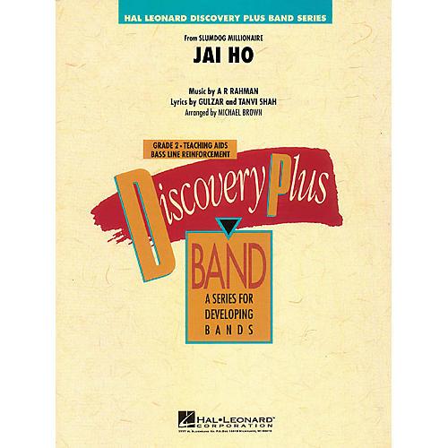 Hal Leonard Jai Ho (from Slumdog Millionaire) - Discovery Plus Band Level 2 arranged by Michael Brown-thumbnail